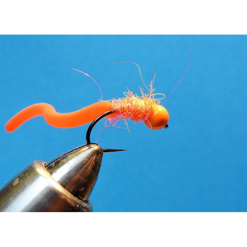 Tungsten Silikonski črv Orange