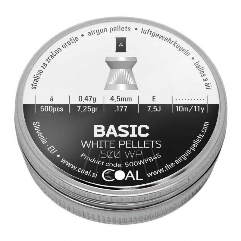 Metki COAL Basic 500 WP 4.5 / .177 - ploščati