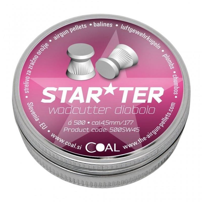 Metki COAL Starter 4.5 / .177 - ploščati