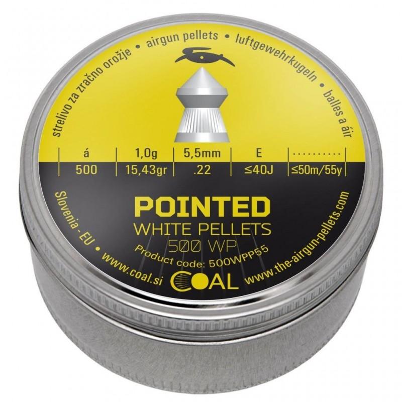 Metki COAL Pointed 500 WP 5.5  / .22  - koničasti