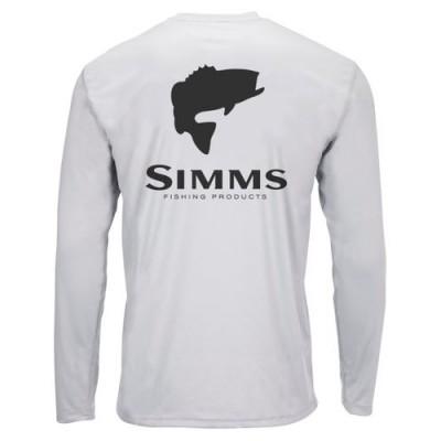 Majica Simms Solar Tech Bass Logo Sterling