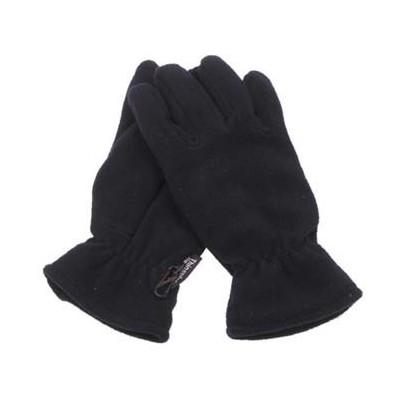 Rokavice iz fleece-črne