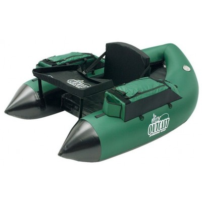 Belly Boat Outcast Fat Cat Green