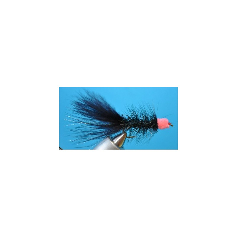 Red/Black Woolly Bugger