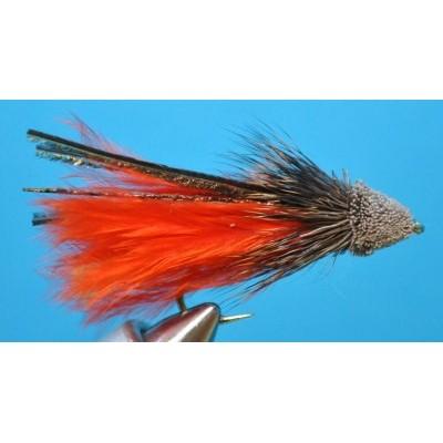 Red Marabou Muddler