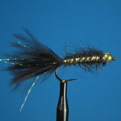 Black Lake Bugger - tungsten