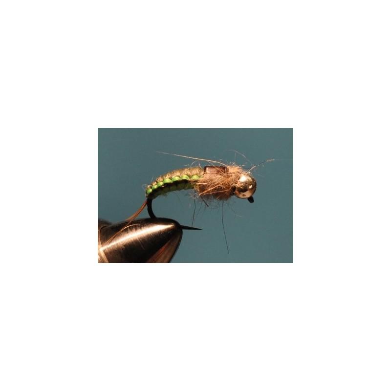 Wowen p. d. green pupa tungsten